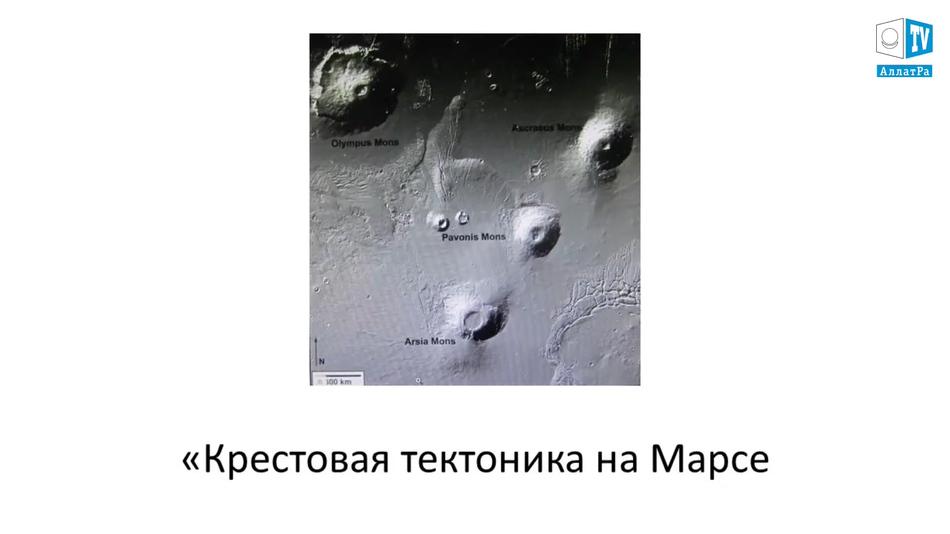 крестовая тектоника на марсе
