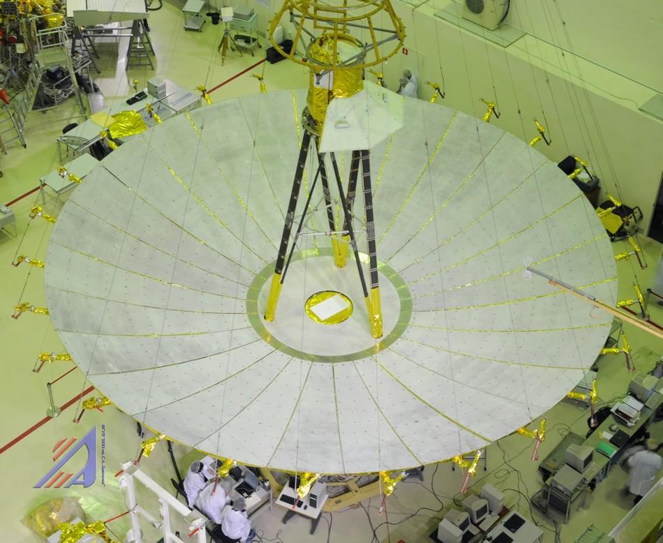 космический радиотелескоп КРТ-10