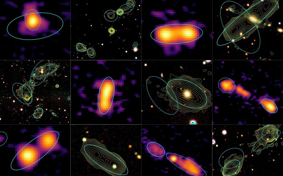 чем отличаются радиогалактики и квазары