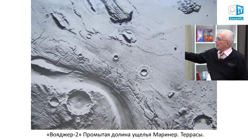 фото Марса, ущелье Маринер
