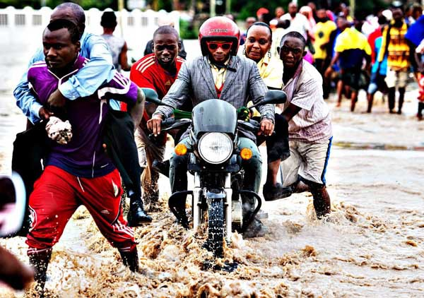 Наводнение в Танзании