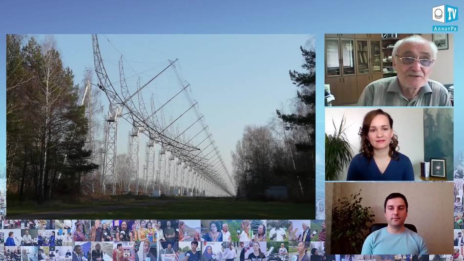 22-метровый радиотелескоп