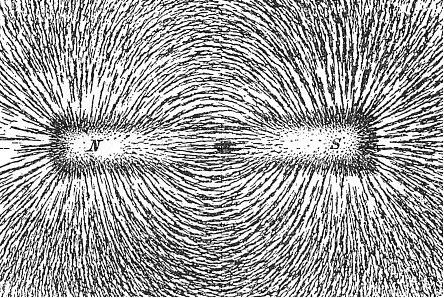 Магнитное поле прямоугольного магнита