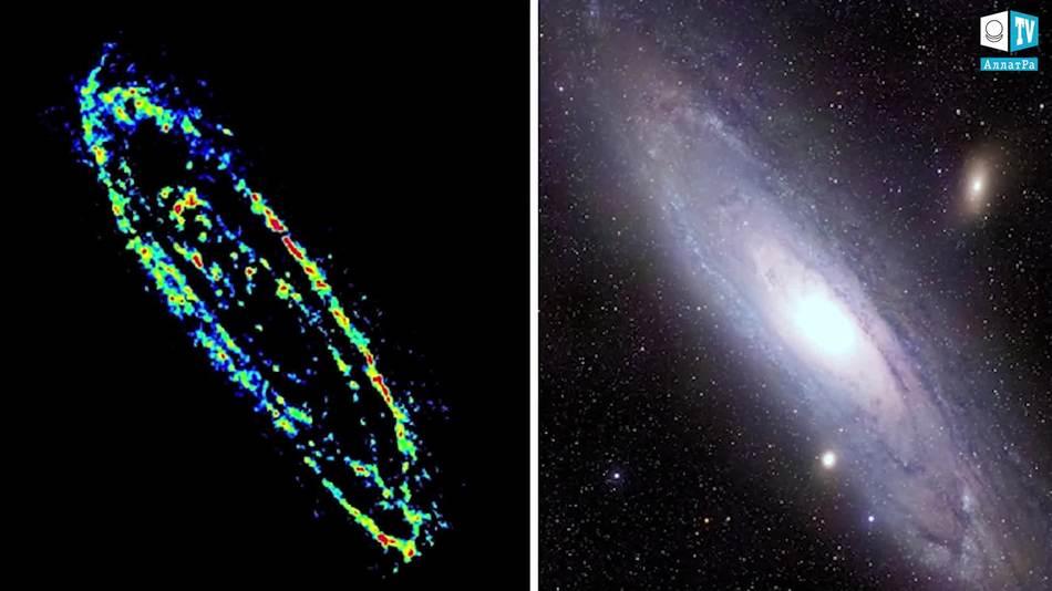 радиоизлучение туманности Андромеды