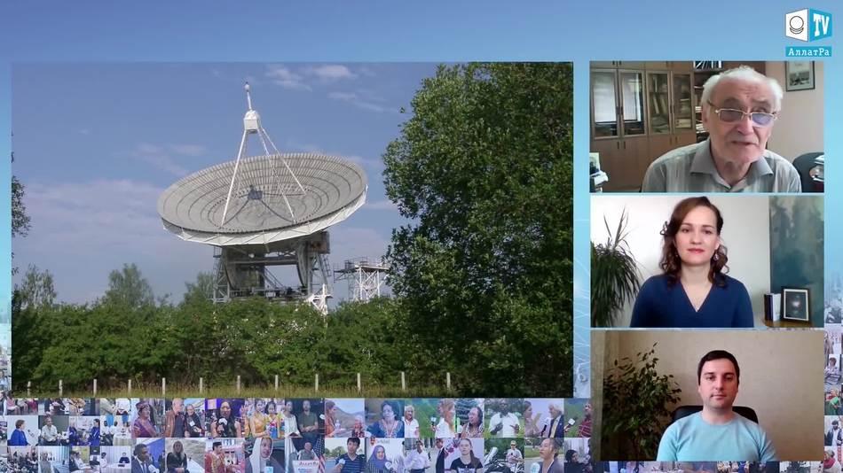 22-метровый полноповоротный радиотелескоп