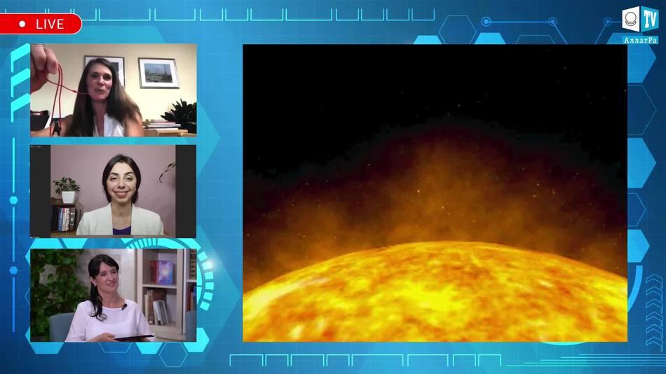 магнитные потоки на Солнце