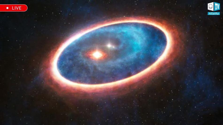 аккреционный диск, рождение звезды