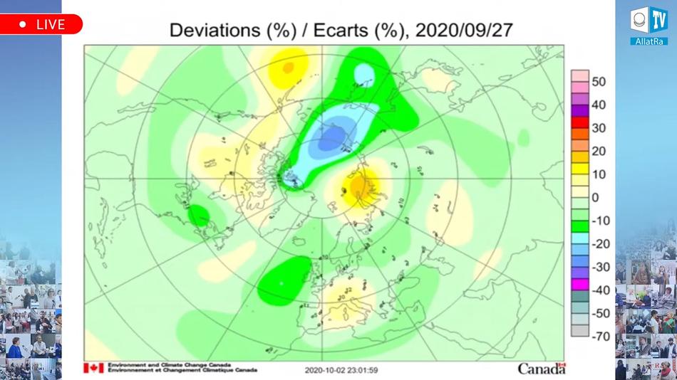 озоновая карта