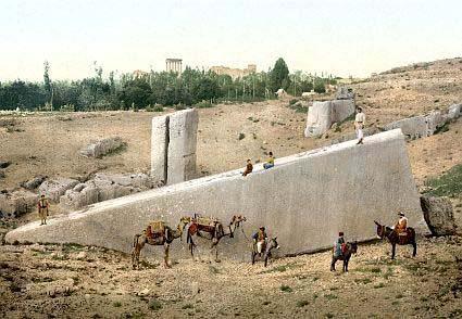 Баальбекская терраса – космодром древней цивилизации