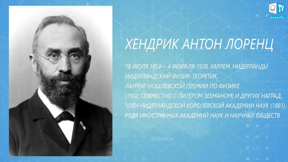 Хендрик Антон Лоренц