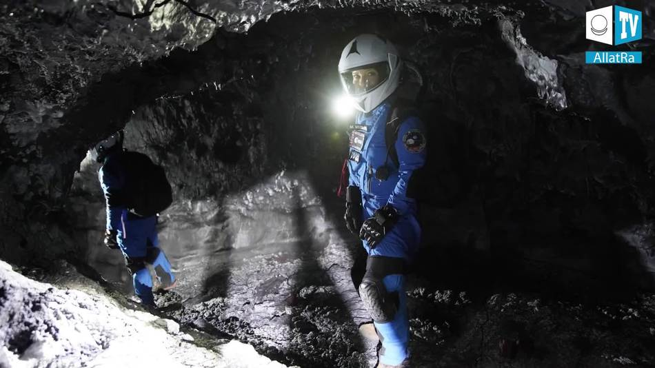 исследования лавовых туннелей