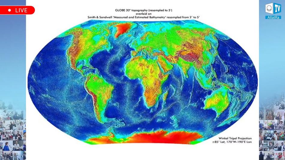 физико-географическая карта