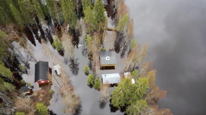 Наводнение в Финляндии