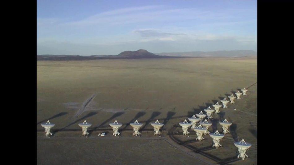 один из самых лучших телескопов, в штате Нью-Мексико
