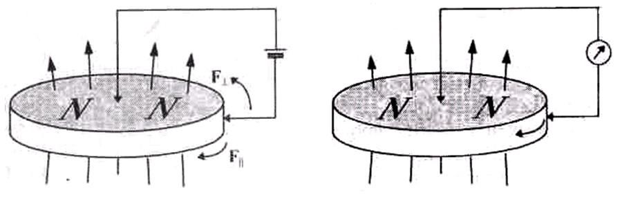 Униполярный двигатель Фарадея и униполярный генератор