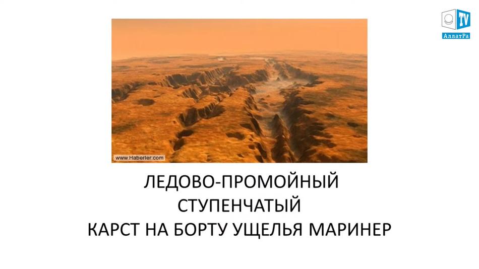 ущелья на Марсе