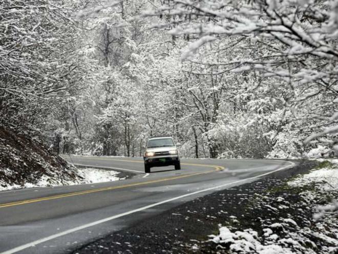 Зимний шторм в США 21 марта 2016