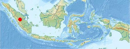 Землетрясение на острове Суматра в Индонезии 23 сентября 2015