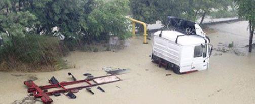 Наводнение в Сочи 25 июня 2015