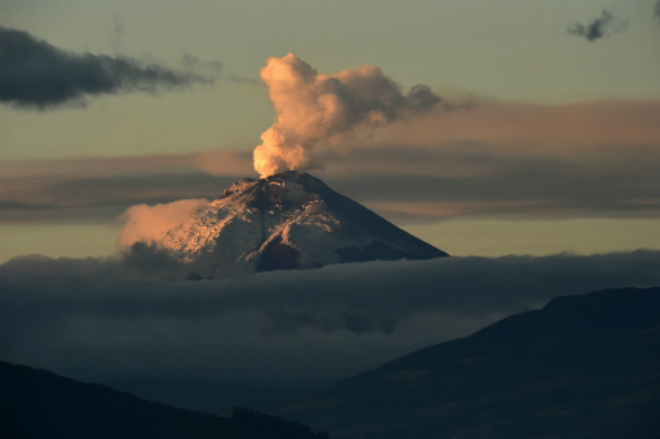Извержение вулкана в Никарагуа 23 сентября 2015