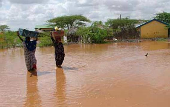 Наводнение в Эфиопии 03 апреля 2016