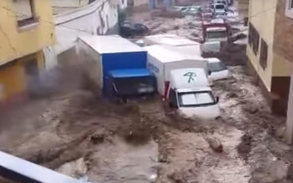 Наводнение в Испании 07 сентября 2015