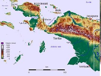 Землетрясение в Ириан-Джая, Индонезия 27 июля 2015
