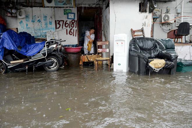 Наводнение в Китае 26 марта 2016