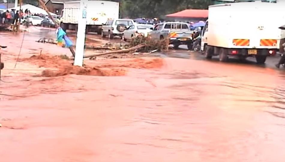 Наводнение в Кении 10 ноября 2015