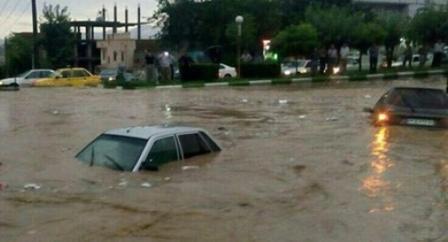 Наводнение в Иране 11 ноября 2015