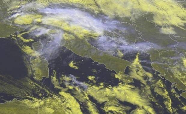 Загрязнение воздуха в Италии 14 ноября 2015