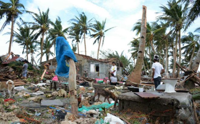 Новый тайфун на Филиппинах 19 декабря 2015