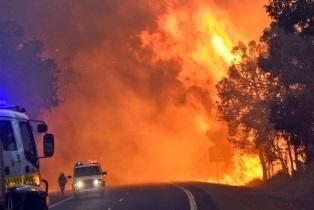 Пожары в Австралии 08 января 2016