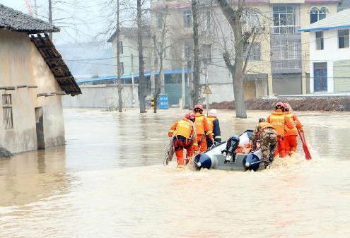 Прорва плотины в Китае 14 января 2016