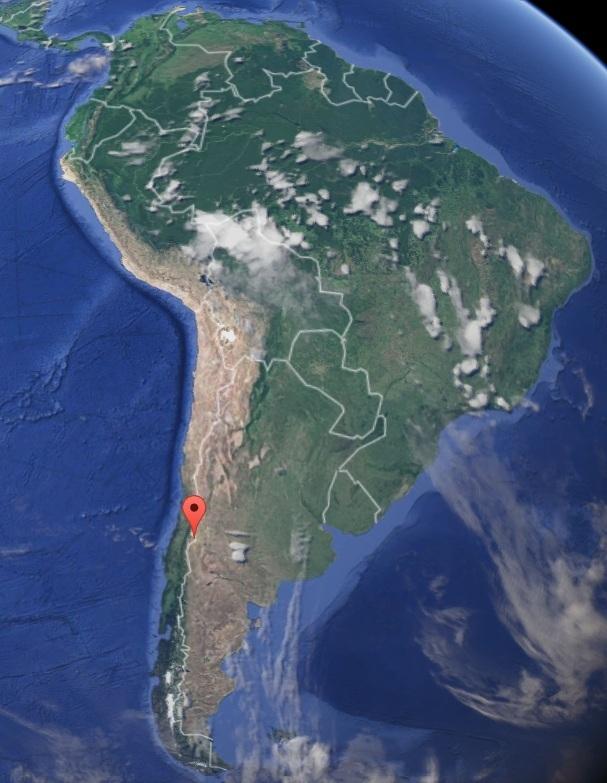 Серия землетрясений в районе кальдеры супервулкана Лагуна-дель-Мауль 04 декабря 2015