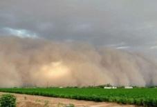Песчаная буря в Аризоне 26 августа 2015