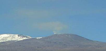 Извержение вулкана  в Перу 10 октября 2015