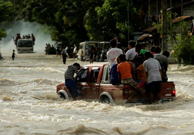 Наводнение в Малайзии 15 декабря 2015