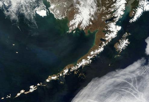 Серия землетрясений на Андреяновских островах 05 сентября 2015