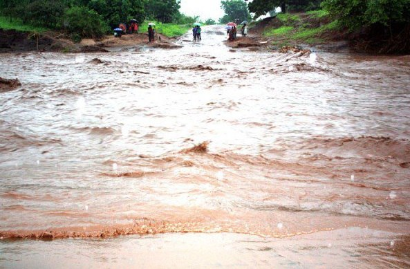 Наводнение в Малави 12 апреля 2016