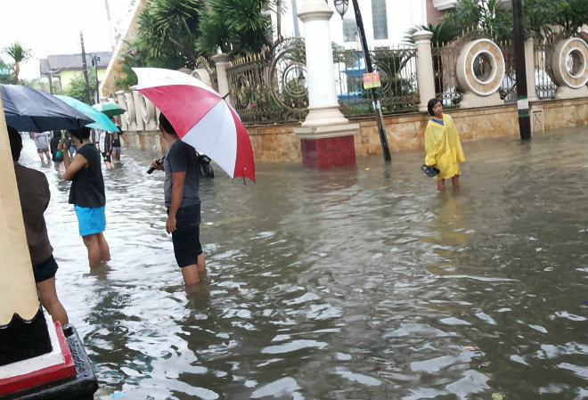 Наводнение в Индонезии 21 марта 2016