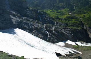 В Вашингтоне обрушилась ледяная пещера 6 июля 2015