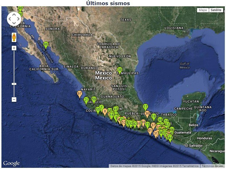 Землетрясения в Мексике. Формирование разлома Североамериканской литосферной плиты