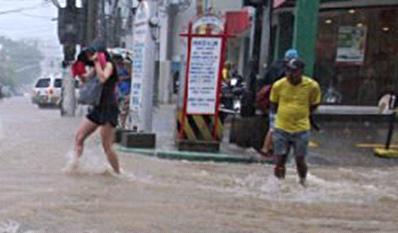 Шторм в Китае 17 августа 2015