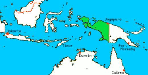 Землетрясение в Ириан-Джая 23 октября 2015