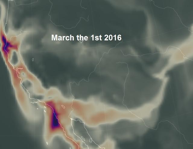 Выброс газа в США 01 марта 2016