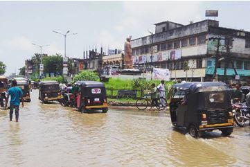 Наводнение в Индии 11 июля 2015