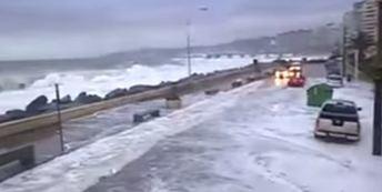 Шторм в Чили 08 августа 2015