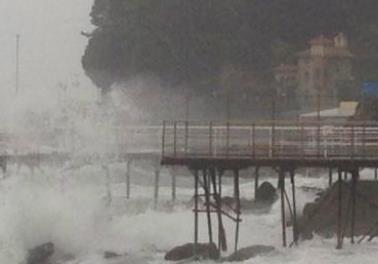 Шторм в Италии 12 января 2016