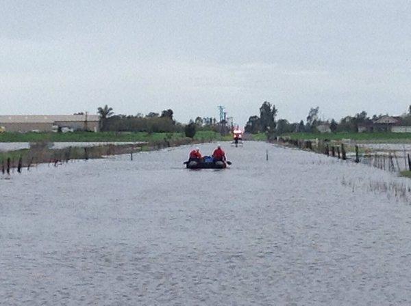Наводнения в США 06 марта 2016